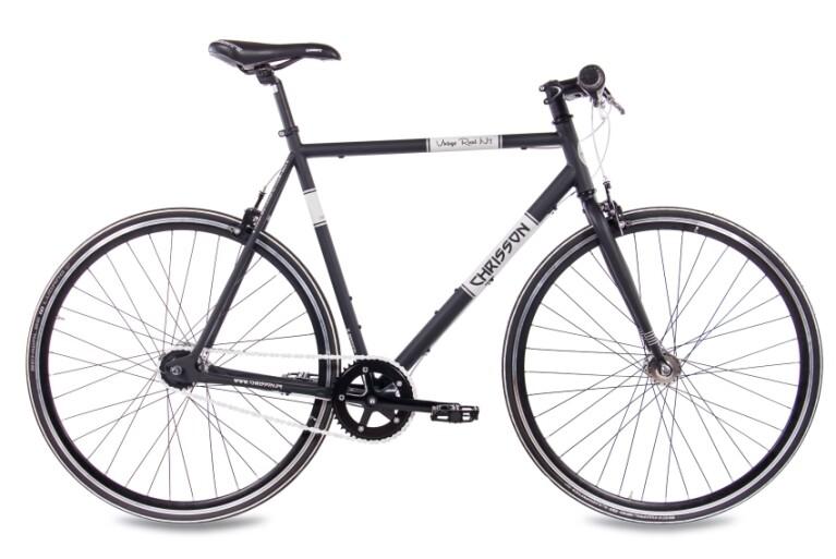 Chrisson - Vintage Road Nexus 7G Urban Bike schwarz matt