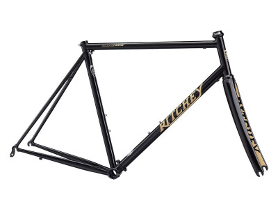 Break-Away Road Frameset black/tan Logo