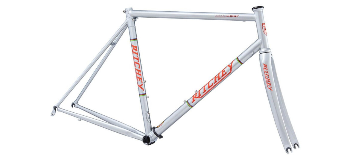 Ritchey Break-Away Road Frameset silver/red Logo