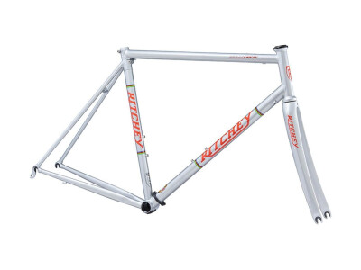 Break-Away Road Frameset silver/red Logo
