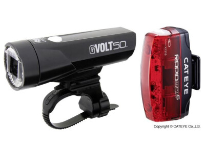 Cateye G Volt 50 + Micro G