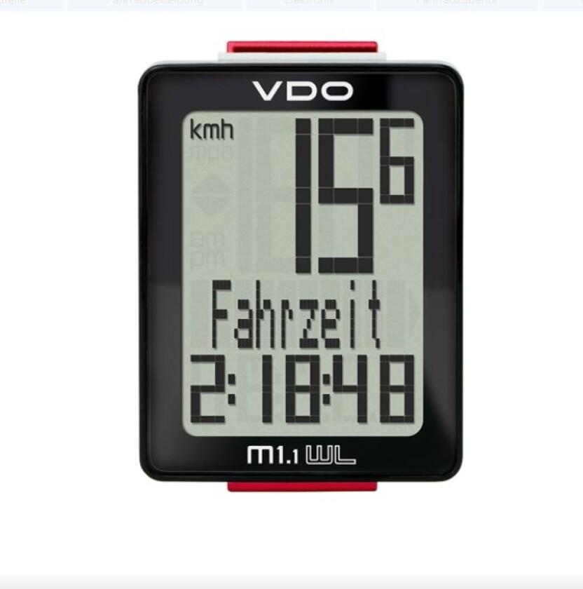 VDO Fahrradcomputer M 1.1 WL