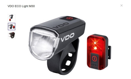 VDO ECO Light M30 Set