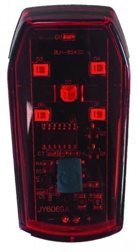 Matrix LED Batterierücklicht BLR 18 mit Bremslichtfunktion