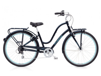 Electra Bicycle Townie Commute 8D EQ Ladies Galaxy Black