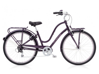Electra Bicycle Townie Commute 8D EQ Ladies Aubergine