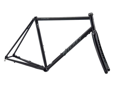 ROAD LOGIC DISC Rahmenset 2020 Black/Grey Logo