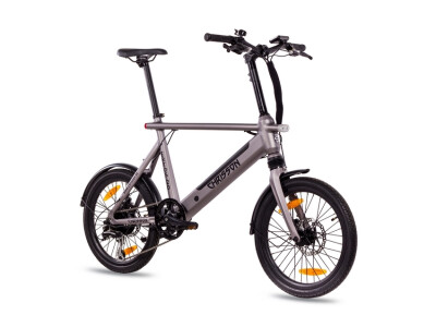 Kompaktrad E-Bike ERTOS20 grau matt