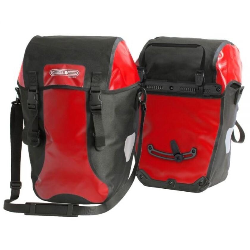 Ortlieb Bike-Packer Classic rot-schwarz