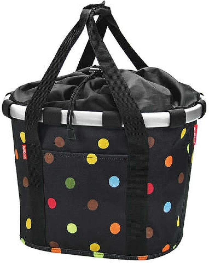 KlickFix Bikebasket Dots