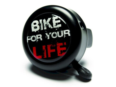 "Reich Cycle-Bells Fahrradklingel Motiv ""Bike for your Life"""