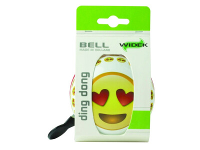 Ding-Dong Glocke Emoji Heart Eyes