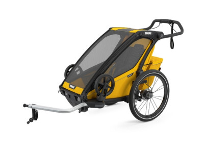 Thule Chariot Sport 1 - Spectra Yellow (2021) incl. Versand