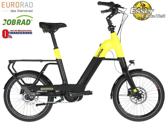 Kettler - Quadriga Cityhopper FL schwarz-gelb