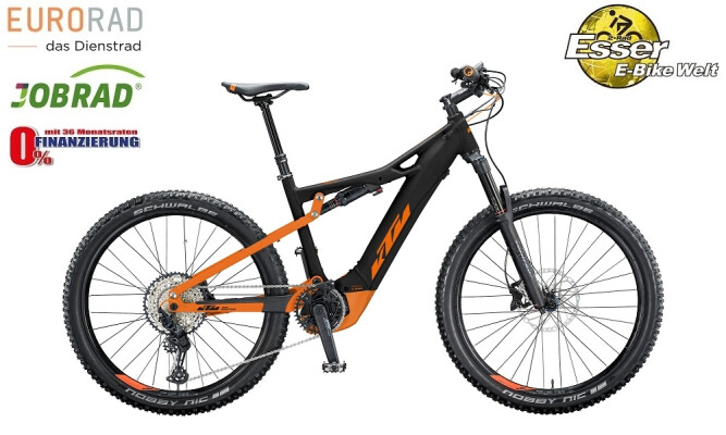 KTM - Macina Lycan 271 schwarz-matt-orange