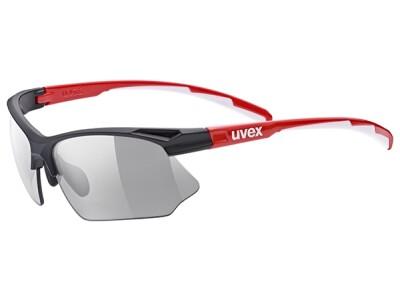 Uvex Sportstyle 802 black-red