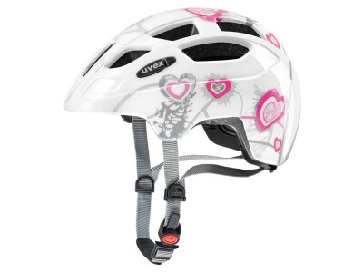Uvex Finale Jr Heart white