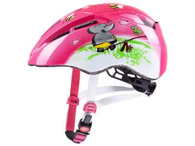 Uvex KID 2 pink-playground-white