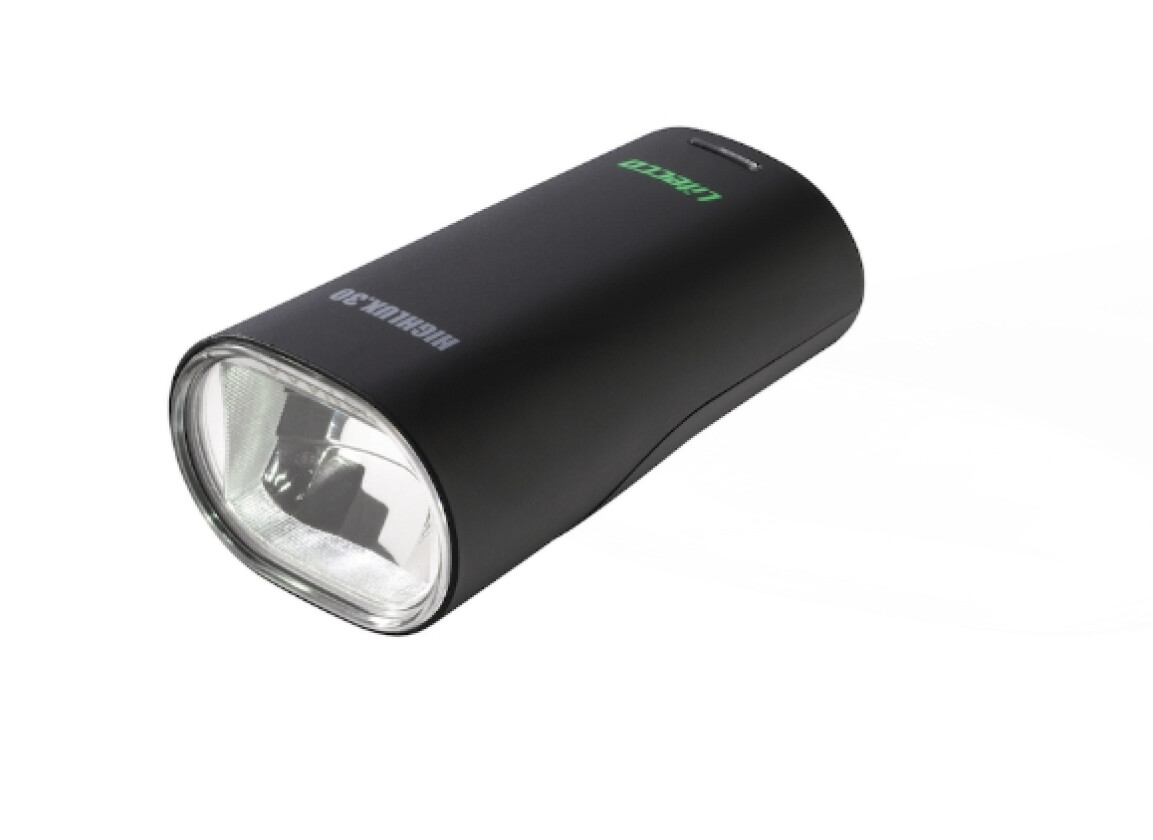 LA Bicycle Litecco LED Batteriefrontleuchte Highlux 30 Akku