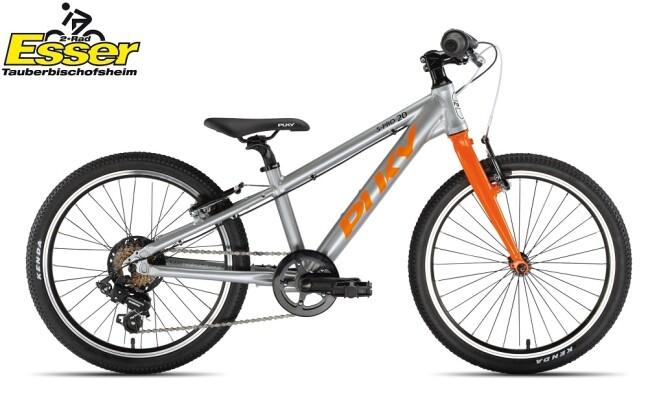 Puky - S-Pro 20-7 Alu silber-matt-orange