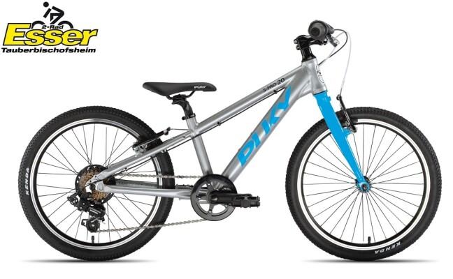 Puky - S-Pro 20-7 Alu silber-matt-blau