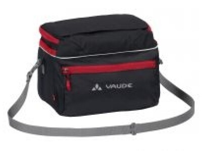 VAUDE Road2 black-red Lenkertasche