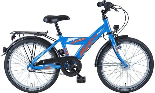 """BBF Outrider 20"""" Y-Rahmen blau"""