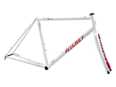 Swiss Cross Disc V2 Frameset 2020 white/red Logo
