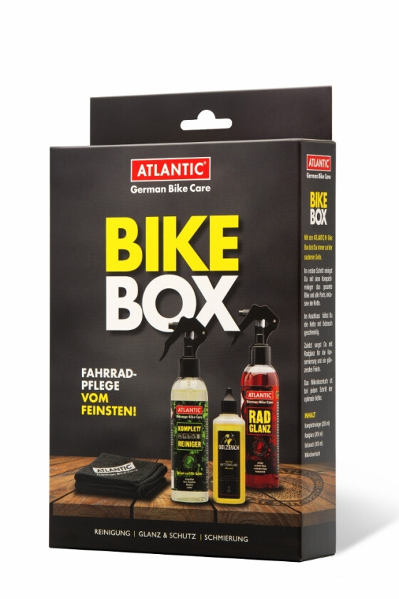 Atlantic Bike Box - Fahrradpflege vom Feinsten