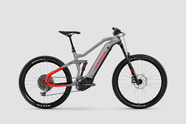Haibike AllMtn 6 Grey/Red