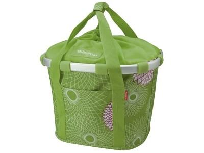 KlickFix Reisenthel Tasche Bikebasket crystals lime grün
