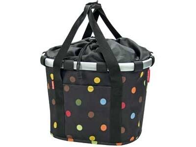 KlickFix Reisenthel Tasche Bikebasket dots