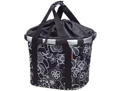 KlickFix Reisenthel Tasche Bikebasket fleur black