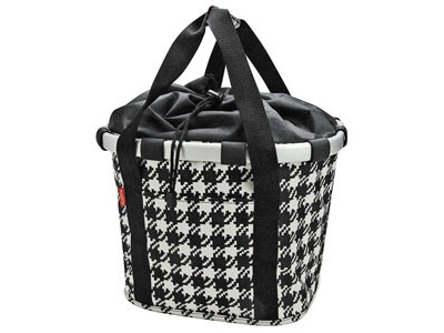 KlickFix Reisenthel Tasche Bikebasket fifties black