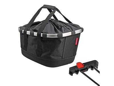 KlickFix Reisenthel Tasche Bikebasket GT für Racktime schwarz