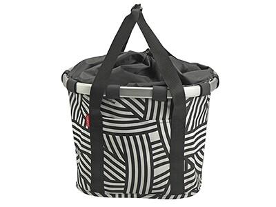 KlickFix Reisenthel Tasche Bikebasket Zebra