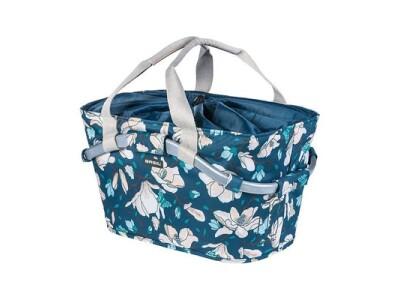 Basil Basket Carry All Magnolia teal blue