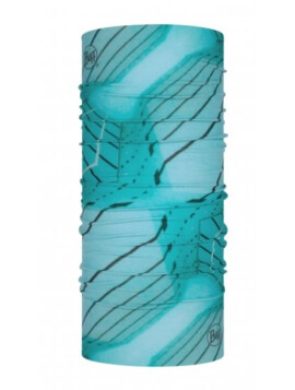 Buff Original Multifunktionstuch Geo-Pool Aqua