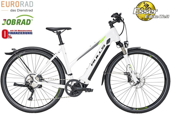 Bulls - Cross Rider EVO 1 Trapez weiß-grün