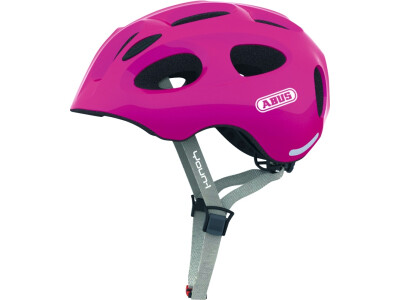 Abus Helm Youn-I sparkling pink