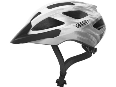 Abus Helm Macator white silver