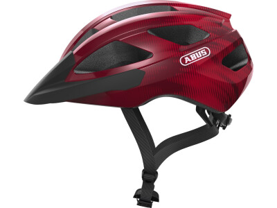 Abus Helm Macator bordeaux red