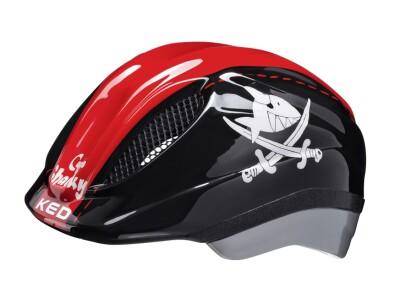 KED Helm Meggy Capt´n Sharky black-red