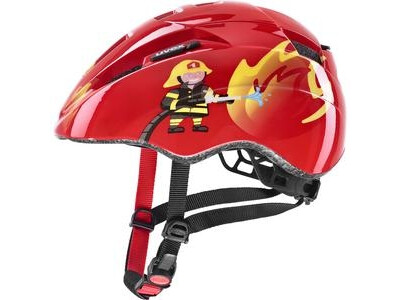 Uvex Kid II, red fireman