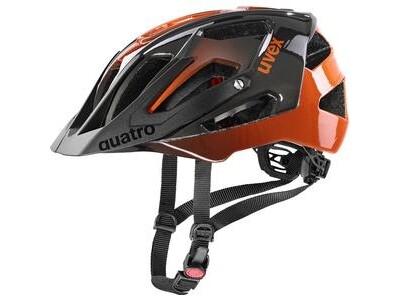 Uvex Quatro, titan - orange