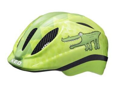 KED Helm Meggy II Trend Green-Croco
