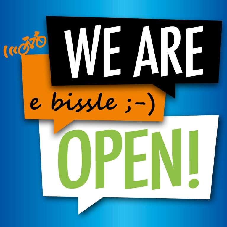 - WE ARE OPEN!
