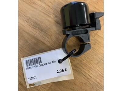 Matrix Mini-Glocke schwarz