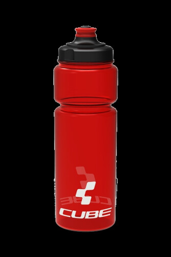 Cube Trinkflasche 0,75 Icon red