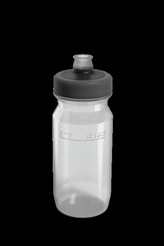 Cube Trinkflasche Grip 0,5l transparent